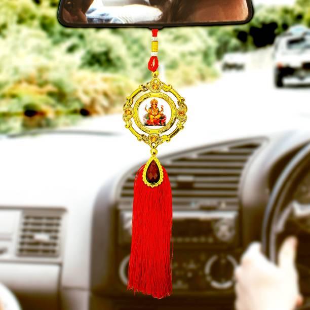 SANBIA ganesha-4 Car Hanging Ornament