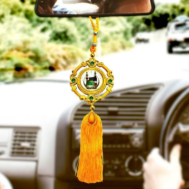 SANBIA mecca-madina-9 Car Hanging Ornament