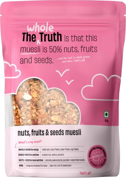 The Whole Truth Breakfast Muesli | Nuts, Fruits, & Seeds