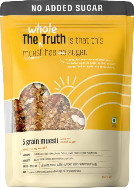 The Whole Truth Breakfast Muesli - No Added Sugar 5 Grain Muesli