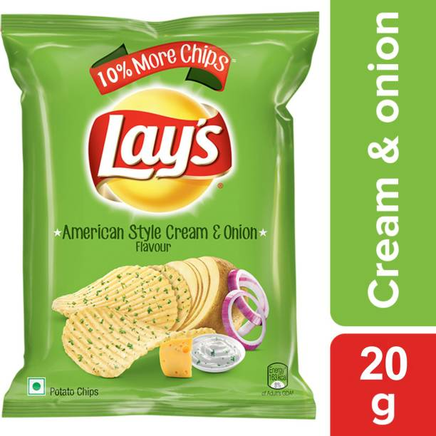 Lay's American Style Cream and Onion Flavour Chips