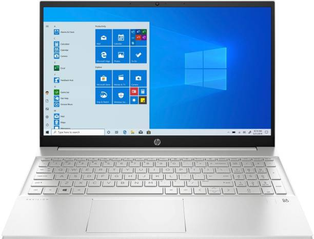 HP Pavilion Ryzen 5 Hexa Core 5500U - (16 GB/512 GB SSD/Windows 10 Home) 15-eh1103AU Thin and Light Laptop