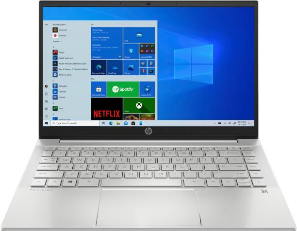 HP Pavilion Ryzen 5 Hexa Core 5500U - (8 GB/512 GB SSD/Windows 10 Home) 14-ec0035AU Thin and Light Laptop
