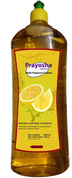Woxour Dishwash Liquid Gel Lemon, With Lemon Fragrance, Leaves No Residue, Grease Cleaner For All Utensils, (2L) Dish Cleaning Gel