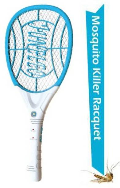 Woomzy Rechargeable Mosquito Killer Bat Machine, Mosquito Swatter, Racquet Insect Killer Racket Electric Insect Killer