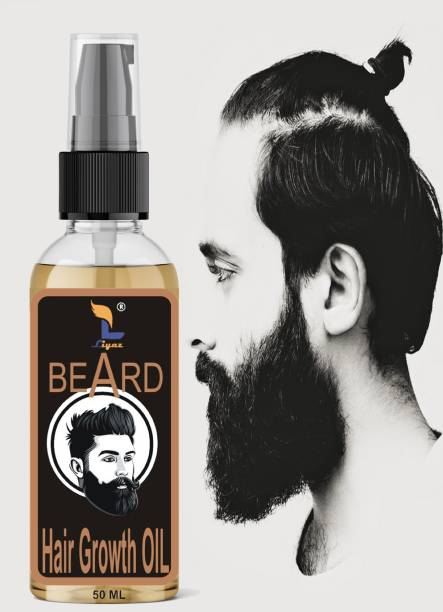 Liyaz Advanced and fast Beard Growth Oil for strong and healthy beard growth Hair Oil - 50ml Hair Oil