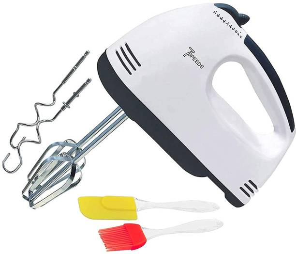 Beauty Feel Multifunctional Food Mixers High Power Electric Egg Beater and Blender, Electric Hand Mixer Cake Making and Whipping Cream with free silicon oil brush and spatula for kitchen 260 W Hand Blender