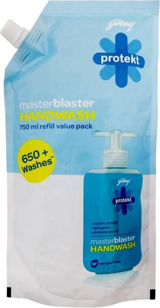 Godrej Protekt Masterblaster Hand Wash Refill Pouch