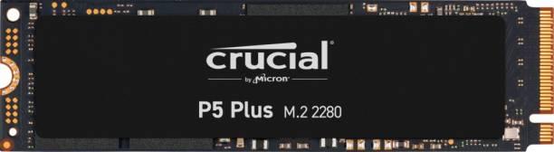 Crucial PCIe 4.0 3D NAND NVMe M.2 SSD 500 GB Laptop, Servers Internal Solid State Drive (P5 Plus 500GB PCIe 4.0 3D NAND NVMe M.2 SSD, up to 6600MB/s)
