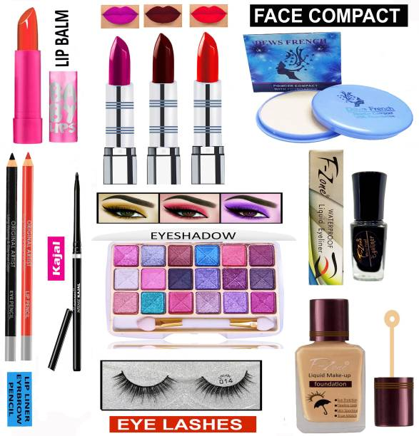 F-Zone All In One Makeup Kit For Girls And Women VKS23
