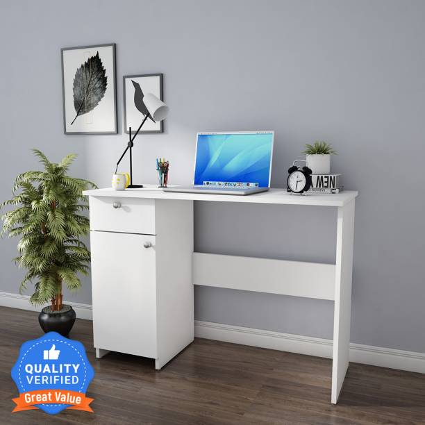 Woodbuzz Work From Home Series Engineered Wood Study Table