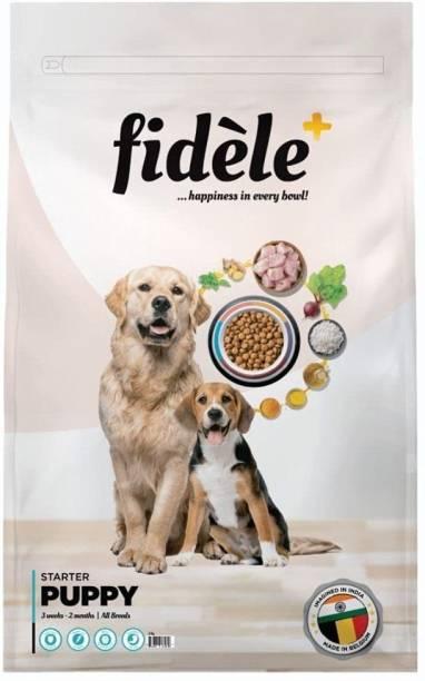 FIDELE STARTER PUPPY 3KG Chicken 3 kg Dry New Born Dog Food