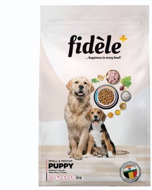 FIDELE + SMALL & MEDIUM BREED PUPPY 3KG Chicken 3 kg Dry Young Dog Food