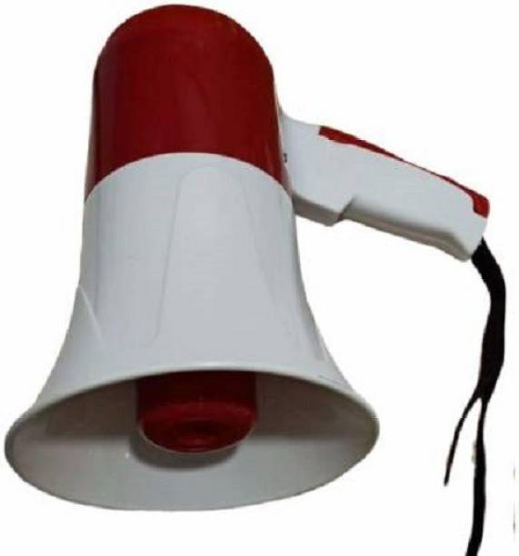 kanyansh 80 watts Handheld Megaphone For Announcement With Recorder, USB And Memory card input. Talk, Record, Play, Siren, Music Recorder_01 Outdoor PA System