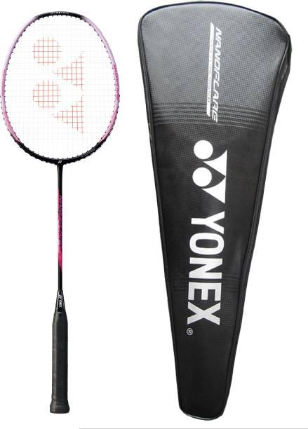 Yonex Nanoflare 001 Feel Badminton Racquet (Sonic Flare System, G4, 78 Grams, 27 lbs Tension)