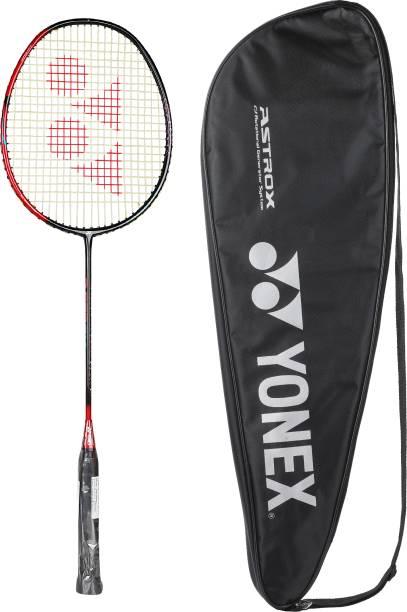 Yonex Astrox Smash Badminton Racquet (Black Flash Red, G4, 73 Grams, 28 lbs Tension)