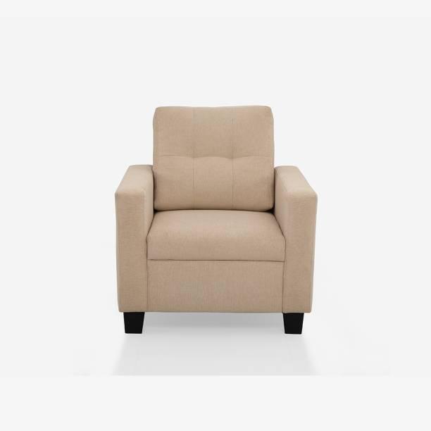 duroflex Ease Fabric 1 Seater  Sofa