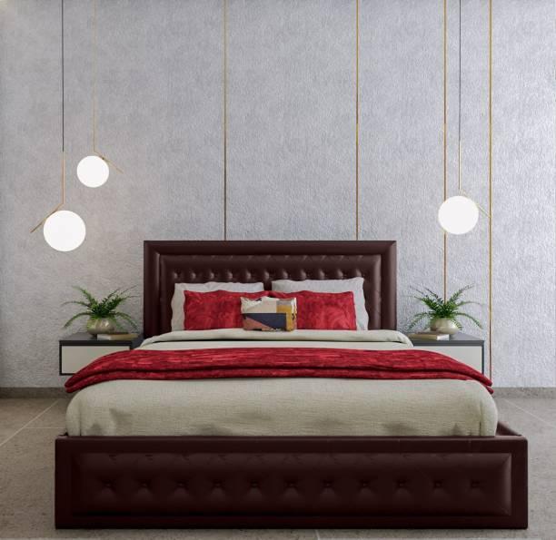 METSMITH Engineered Wood King Bed