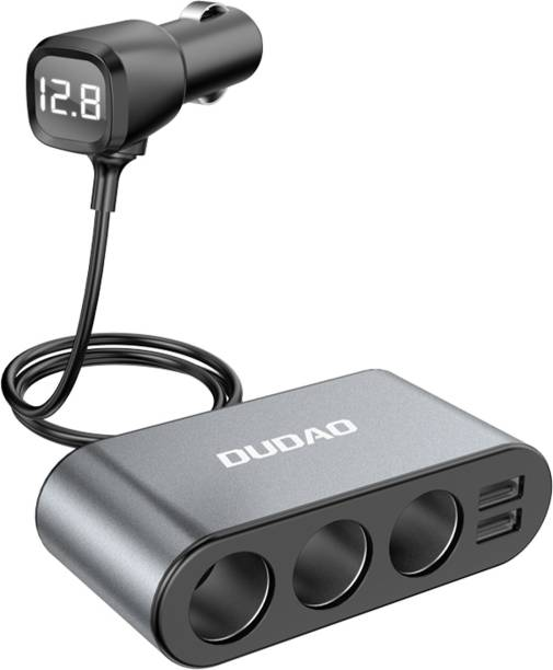 DUDAO 3.4 Amp Qualcomm Certified Turbo Car Charger