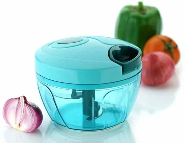 gopi New Premium Vegetable Chopper 450 ml Green Vegetable & Fruit Chopper