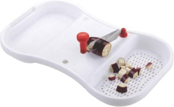 Peher Xpress Cut N Wash Cutting board with 2 Cutting Blades Plastic Cutting Board