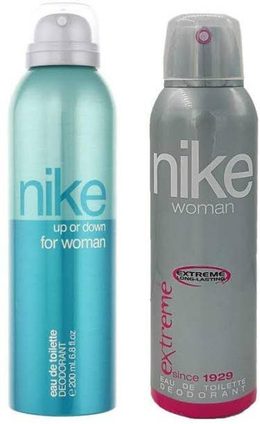 MAMA Nike up or down woman deodrant spry 120ml 2 pack Deodorant Spray  -  For Men & Women
