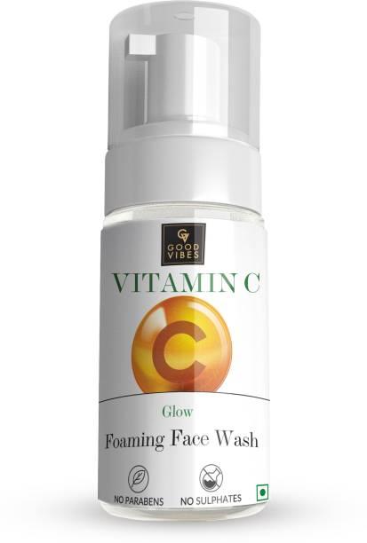 GOOD VIBES Vitamin C Glow Foaming  (150 ml) Face Wash