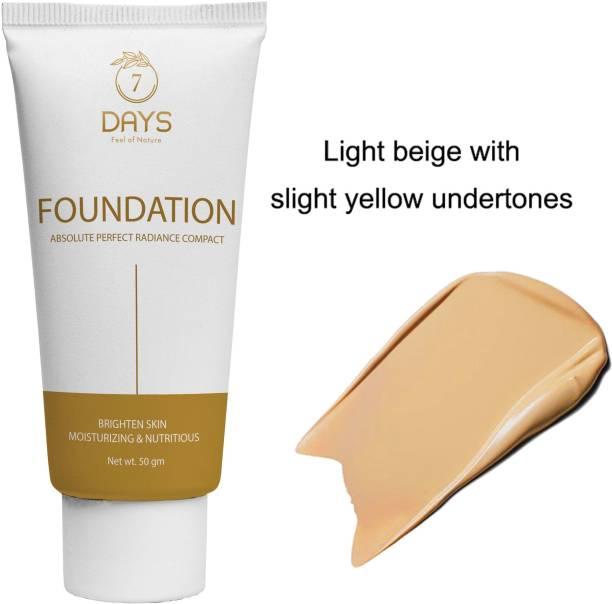 7 Days Organic Liquid  Foundation