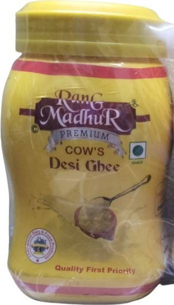 Madhur PURE COW GHEE USE FOR MULTIPURPOSE AND BEST FOR HEART Ghee 500 ml Plastic Bottle