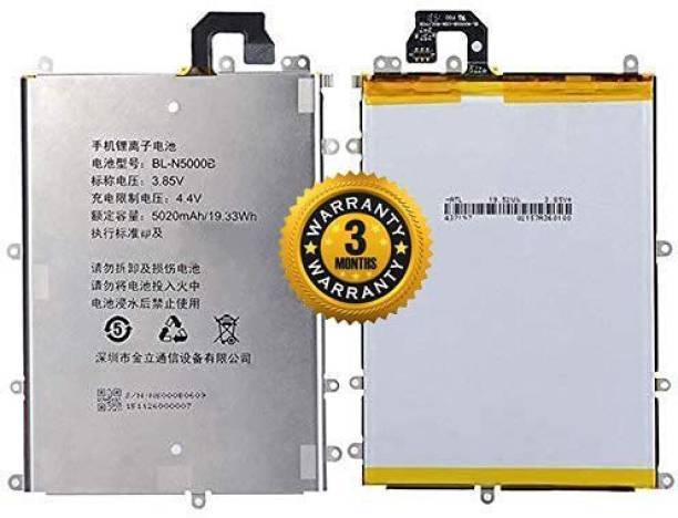 Wimax Mobile Battery For  GIONEE M5 PLUS BL-N5000B