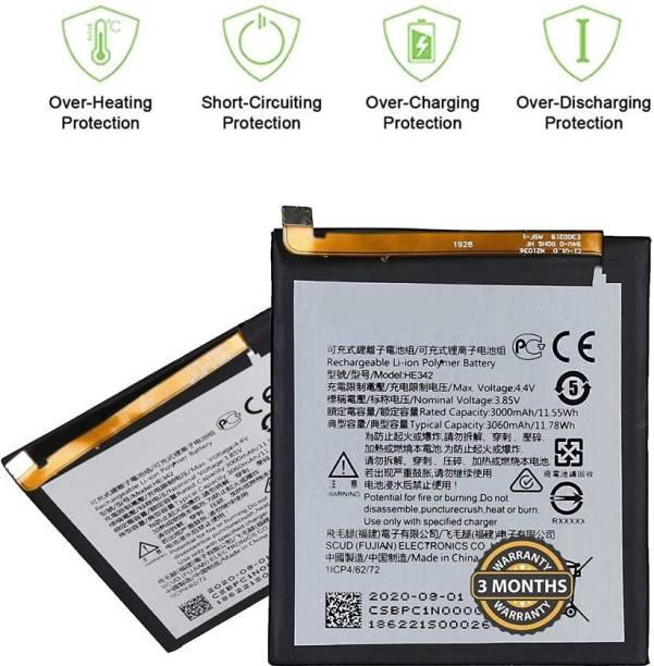Wimax Mobile Battery For  NOKIA HE342 HE342 6.1 Plus HE342 X6 2018 TA1099 X5 TA1109 NOKIA 5.1 PLUS