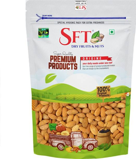 SFT Gurbandi Giri Almond (Badam) Superior Quality Almonds Organic [ Rich in Oil so Bitter in Taste ] Almonds