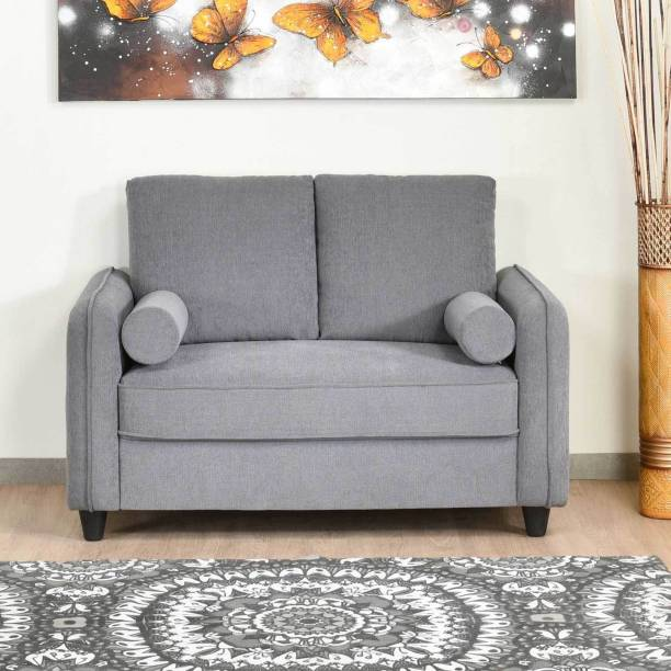 @Home by nilkamal Ryder Fabric 2 Seater  Sofa