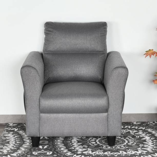 @Home by nilkamal Piper Fabric 1 Seater  Sofa