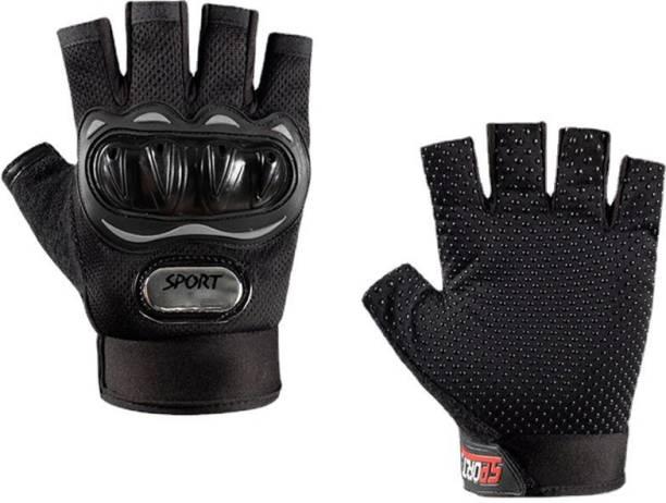 KeepCart Tactical Half Finger Gloves for MotorBike Bycycle, Motorcycle Cycling Gloves Cycling Gloves