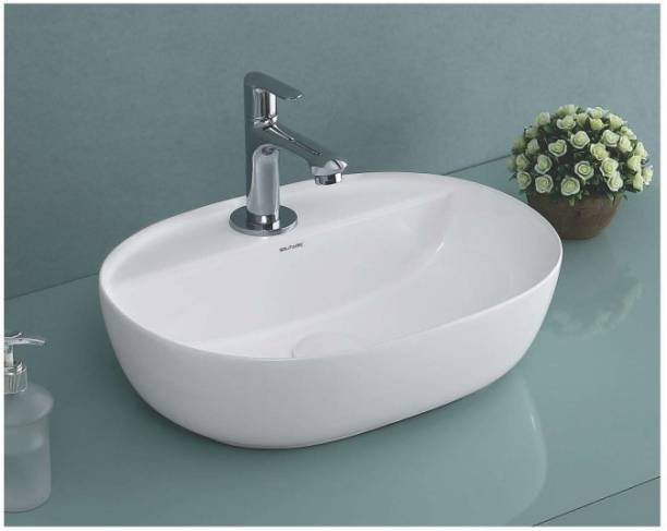Solitaire ONYX WASH BASIN - ONYX - TABLE TOP BASIN | HAND WASH BASIN | CERAMIC BASIN Table Top Basin