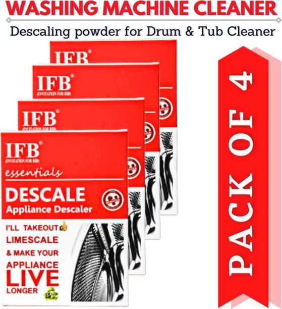 IFB(INVITATION FOR BID)® PAY-3-GET-4 Washing Machine Descaling Powder Detergent Descaler For Drum Cleaning Descale Deep Cleaner For Tub Front & Top Load Detergent Powder 400 g