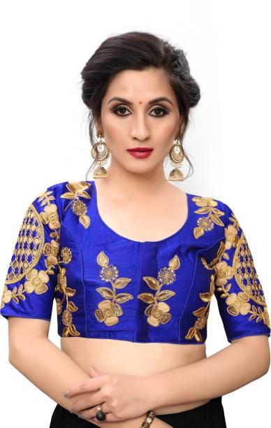 Bhavyam U-Neck Women Blouse