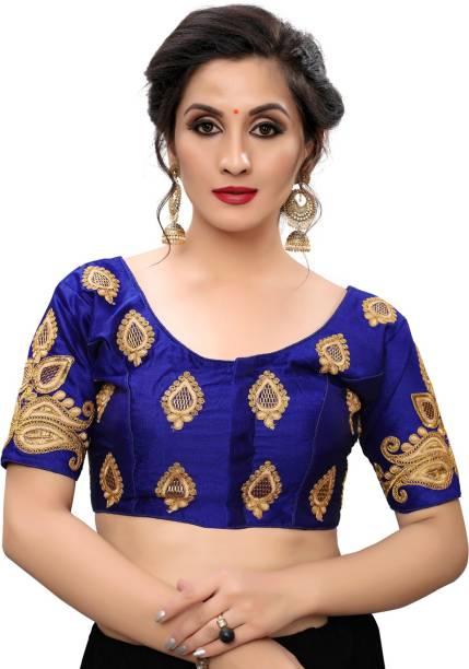 Bhavyam Round Neck Women Blouse