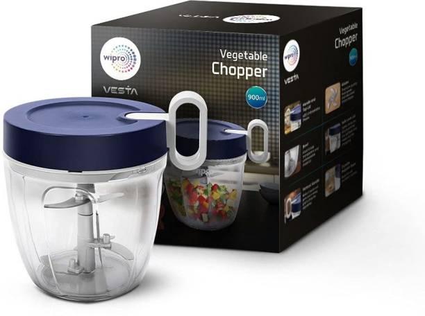 Wipro Vesta Mini Handy and Compact Vegetable & Fruit Chopper