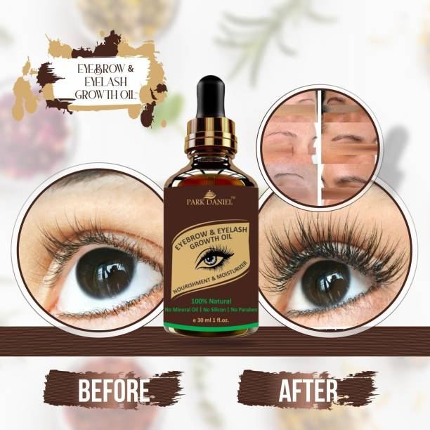 PARK DANIEL Eyebrow & Eyelashes Growth Oil-Enriched with Natural Ingredients(30 ml) 30 ml