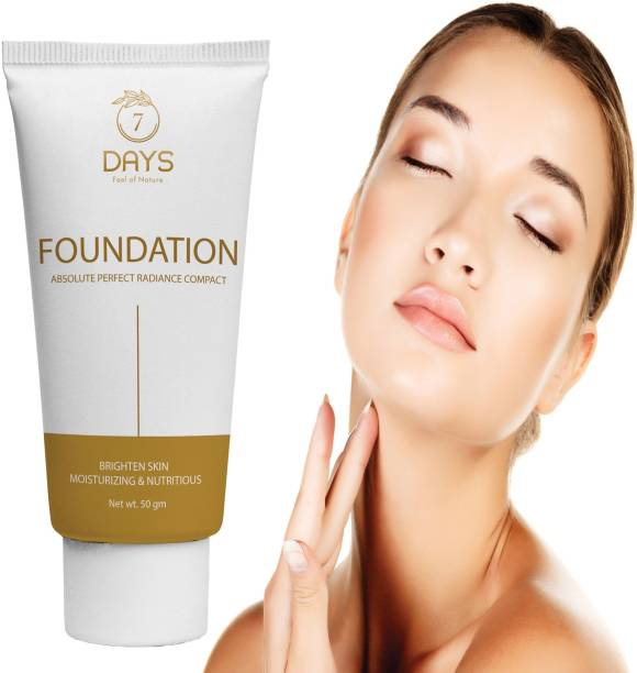 7 Days foundation cream for oily dry skin and refines pores for a natural looking matte finish Foundation