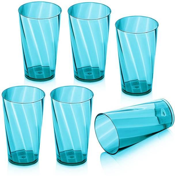 BHOOMI (Pack of 6) MERITO-6pcs_Blue Glass Set