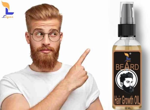 Liyaz Beard and Hair Growth Oil, 50 ml Hair Oil