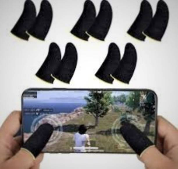 Pubg Anti Slip, Sweat-Proof Thumb Gloves for Mobile(Android, IOS) (smartphone)