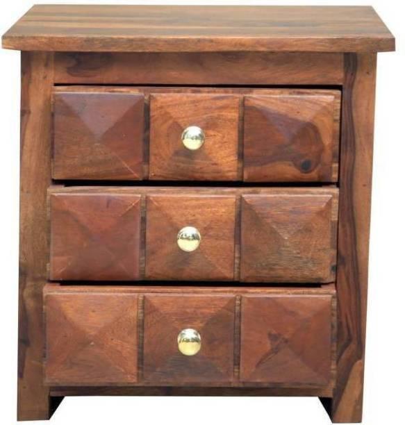 Induscraft Sheesham Wood Solid Wood Bedside Table