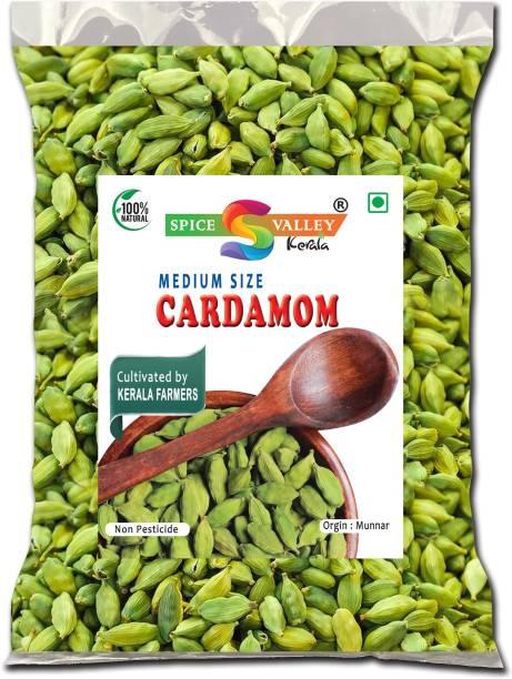 SPICE VALLEY Cardamom (Medium Size) Elaichi Organic Kerala