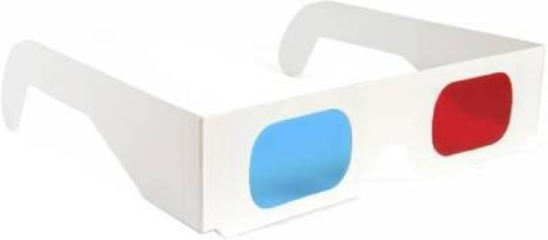 RingTel 1Pc. Anaglyph 3D Paper Glass Video Glasses