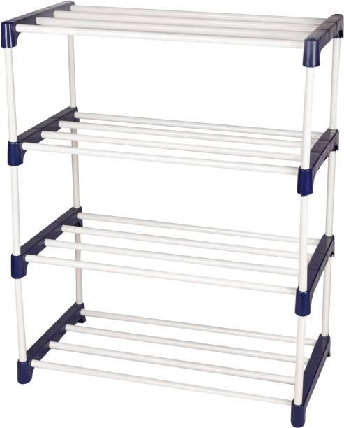 Novatic Metal Open Book Shelf