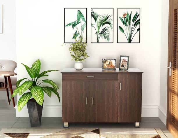 BLUEWUD Kaspen Engineered Wood Free Standing Cabinet